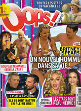 BRITNEY SPEARS French Oops Magazine 6/5/08 JESSICA ALBA MEGAN FOX LILY ALLEN