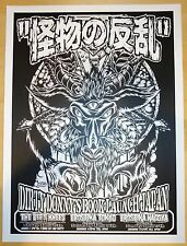 Dirty Donny's Book Tour - Japan Silkscreen Poster S/N by DIrty Donny