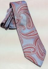 BARCELONA CRAVATTE MULTICOLOR PAISLEY PRINT SILK DESIGNS NECK TIE HANKIE SET NEW