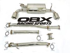 OBX Catback Exhaust For 2008 To 2013 Nissan Altima 2.5L 3.5L QR25DE VQ35DE (L24)