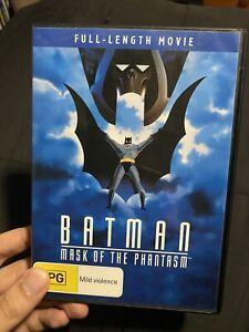 Batman Mask Of The Phantasm Like New DVD