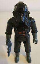 Vintage Star Wars Tie Fighter Pilot Action Figure with blaster 1982