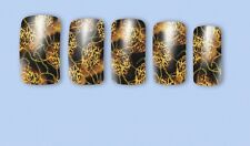 Nail Art Water Decals Stickers Transfers Animal Print Tiger Gel Polish (379)