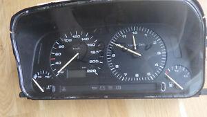 Tacho, Kombiinstrument mit Uhr VW Golf III 1,9 Diesel 29500 km, Nr 1H6 919 033 L