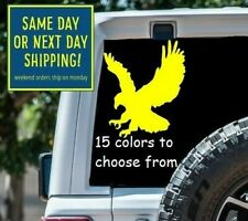 8 Sizes American Bald Eagle Car Window Decal Sticker Macbook Laptop Tablet Gift
