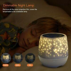 LED Star Night Light Projector Baby Kids Sleep Starry Night Lamp Room Decor