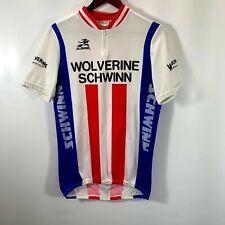 New listing Aussie Jersey Schwinn Bike Men's Large Shirt Pouches Wolverine Sports Club Zip