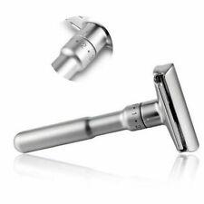 Lames de rasoir de sécurité à double tranchant réglables en alliage de zinc