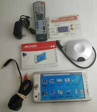 "Archos Av700 Dvr 100Gb 7"" Mobile Digital Video Recorder Rare Discontinued"