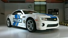 G LGB 1:24 Scale Maisto 2010 Chevrolet Camaro SS RS US Police Car Diecast Model