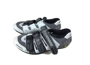 SHIMANO SH-RP201 LSG Series Performance On Road Cycling Womens Bicycle Shoes; Gray; 37
