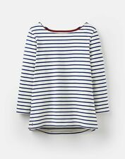 Joules 204218 Jersey Striped Top - SOFT NAVY AND Cream STRIPE