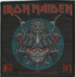 Iron Maiden Senjutsu Samurai Eddie Aufnäher Patch 100% offizielles Merch