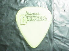 DANGER DANGER Logo & Bruno Ravel Signature 1990's Concert Tour GUITAR PICK #3