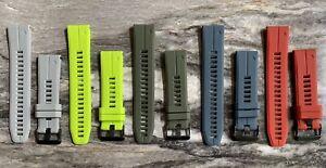 Garmin Fenix 6 (22mm) Quick Release Silicone Watch Strap (Choose Color)
