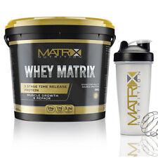 5kg Optimum Whey Protein Powder by Matrix Nutrition - White Chocolate Truffle X2