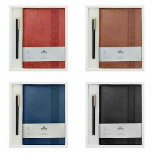 Premium Business PU Leather Notebook A5 Journal Diary Book Writing Notepad Gift