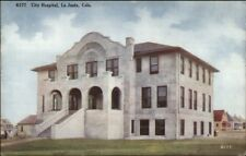 La Junta CO City Hospital c1910 Postcard rpx