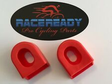 2 Race Ready.. Crank Arm Boots...MTB..Cycling.. fits SRAM / Shimano -  Red