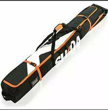 Sukoa Premium Padded Ski Bag for Air Travel Carry Bag Snow Gear Poles Accs B1
