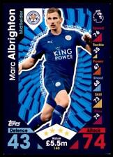 Match Attax 2016-2017 Marc Albrighton Leicester Stadt Karte Nr. 140