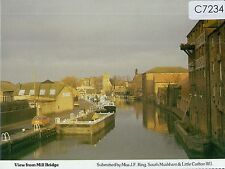 C7234cgt UK View from Mill Bridge Nottinghamshire Women's Institutes postcard