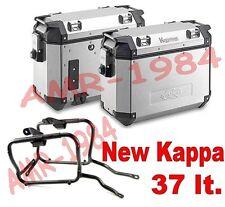 KIT 2 VALIGIE KVE37 ALLU + TELAIO  BMW R 1200 GS  ADVENTURE 2014-2015 + PLR5108