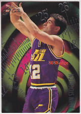 1995-96 FLAIR PERIMETER POWER: JOHN STOCKTON #14 of 15 NBA ALL-TIME STEAL LEADER