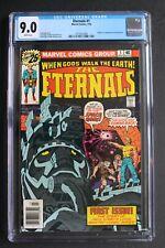ETERNALS #1 Origin First DEVIANTS IKARIS Marvel 1976 KIRBY New MOVIE CGC  9.0