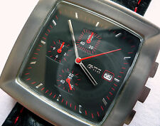 VW Volkswagen Golf GTi R32 Racing Line Driver Sport Car Design Watch Chronograph