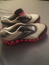 Reebok Zig Tech Zig Fuel Womens Running Training Shoes Size 10 White Pink Black