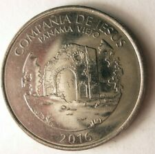 Panama 25 centesimos 2016 coins lot 4 pcs *
