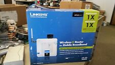 Linksys WRT54G3G-VN Mobile 4-Port 10/100 Wireless 3G WIFI Network Router Verizon