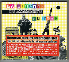 BERNARD MARLY - LA LÉGENDE DES ACCORDÉONISTES DU TOUR - 3 CD SET - NEUF NEW NEU