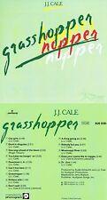 """J.J. Cale """"Grasshopper"""" 7. Werk! Von 1982! Mit """"Nobody but you""""! Nagelneue CD!"""