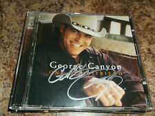 GEORGE CANYON AUTOGRAPHED ONE GOOD FRIEND CD COMPACT DISC PROOF