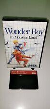 SEGA Master System Spiel WONDER BOY IN MONSTER LAND RetroGame