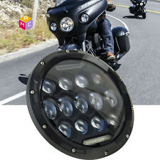 7 inch Daymaker Reflector Led Headlight Fit Indian Chief Yamaha V-Star Road Star