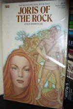 JORIS OF THE ROCK By LESLIE BARRINGER, 1st US PAPERBACK 1976
