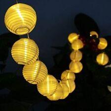 Lichtschläuche & -ketten im Weihnachts-Lampion und Batterie
