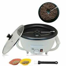 More details for 220v home electric coffee bean roaster machine nut peanut roasting machine 750g