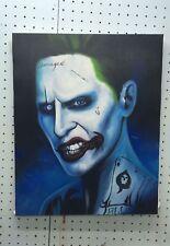 The Joker Oil Canvas Painting Suicide Squad Marvel Comics