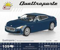 #24563 - Cobi Maserati Quattroporte - Blau - 1:35