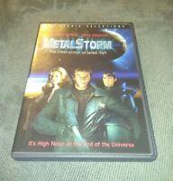 Metalstorm: The Destruction of Jared-Syn (DVD) Jeffrey Byron, Kelly Preston RARE