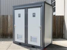 2020 Bastone Mobile Restroom w/Dual Toilet Pedestal Sink 110V Power bidadoo -New