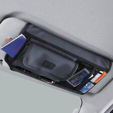 New Sun Visor Organizer Holder Multifunction Storage Pocket Car Accessories