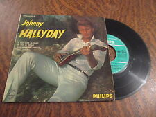 45 tours johnny hallyday 1re serie nous quand on s'embrasse