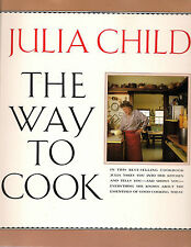 Julia Child The Way to Cook 1993 Paperback Signed Dallas Book Signing Soft Cover