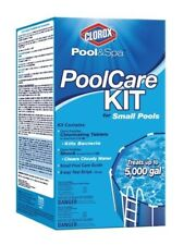 New listing Clorox Pool&Spa Pool Care Kit for Small Pools. Treats up to 5,000 gallons