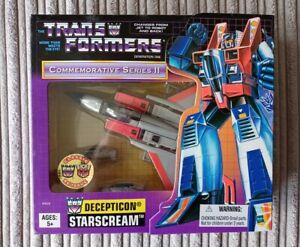 Transformers Hasbro Commemorative Series 2 II Starscream G1 TRU Exclusive MIB